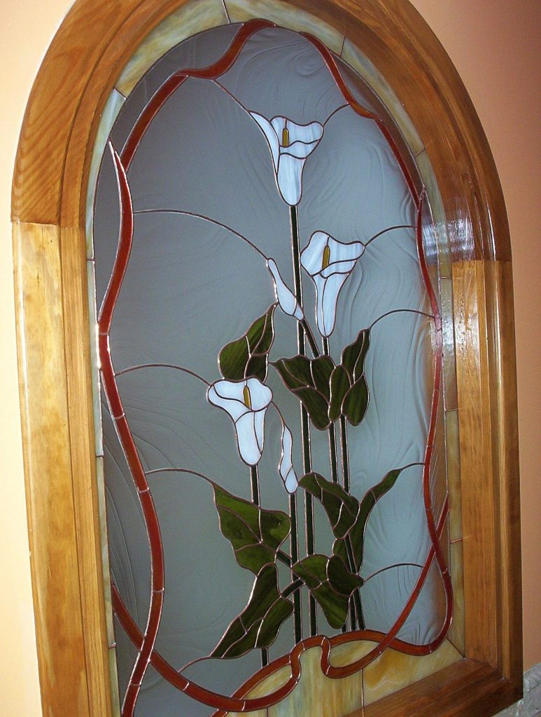 vidriera decorativa